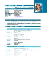cv médico-enfermera n° 66 trabajar en hospitales y clinicas privadas