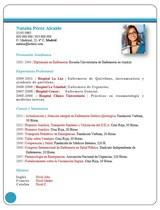 cv médico-enfermera n° 68 buscar empleo en hospitales y clinicas privadas