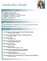 cv médico-enfermera n° 73 trabajar en hospitales y clinicas privadas