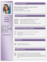 cv médico-enfermera n° 75 buscar empleo en hospitales y clinicas privadas
