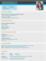 cv médico-enfermera n° 77 trabajo en hospitales y clinicas privadas