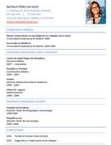 currículum profesor n° 18 - empleo en el corte ingles, gas natural, carrefour, seat, alcampo