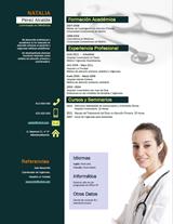 currículum profesor n° 2 - mandar cv médicos de selección, RRHH