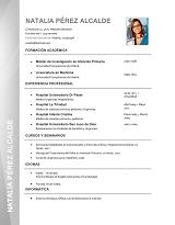 currículum profesor n° 13 - mandar cv empresas de selección, RRHH