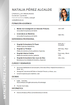 currículum profesor n° 13 - enviar curriculum a industrias químicas, alimentacion