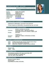 currículum profesor n° 24 - trabajar en hoteles