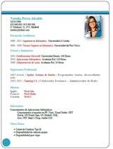 currículum profesor n° 25 - enviar cv empresas