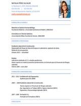 currículum profesor n° 46 - trabajo en hoteles