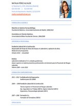 currículum profesor n° 46 - enviar curriculum hoteles