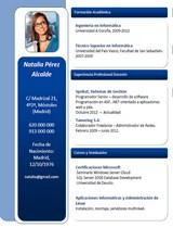 currículum profesor n° 54 - trabajo en gas natural, seat