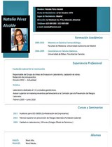 currículum profesor n° 11 - empleo en hoteles