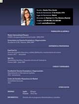 currículum profesor n° 16 - enviar cv hoteles