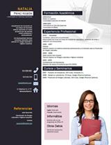 currículum profesor n° 2 - trabajar en telefónica, ford, peugeot, renault, nissan