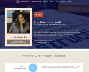 currículum online profesor n° 1 - trabajo en mercadona, repsol, cepsa, endesa, iberdrola
