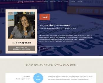 currículum online profesor n° 28 - buscar empleo en hoteles