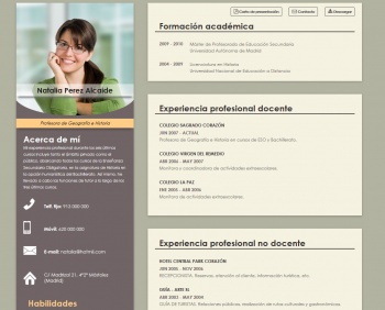 currículum online profesor n° 1 - buscar empleo en gas natural, seat