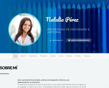 currículum online profesor n° 1 - mandar cv empresas