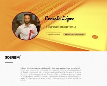 currículum online profesor n° 3 - envio curriculum hoteles