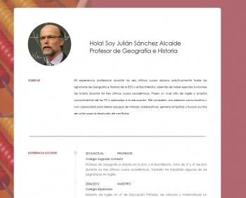 currículum online profesor n° 1 - empleo en hoteles
