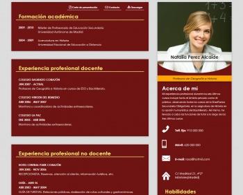 currículum online profesor n° 47 - enviar curriculum industrias químicas, alimentacion
