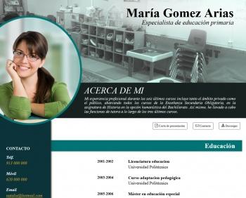 currículum online profesor n° 1 - buscar empleo en telefónica, ford, peugeot, renault, nissan