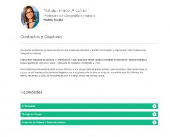 currículum online profesor n° 1 - para mandar a escuelas