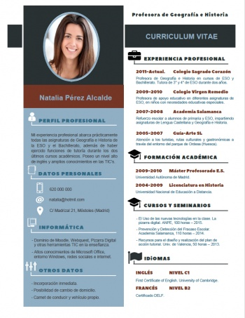currículum profesor n° 85 - para mandar a escuelas