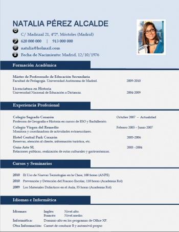 currículum profesor n° 68 - trabajo en colegios