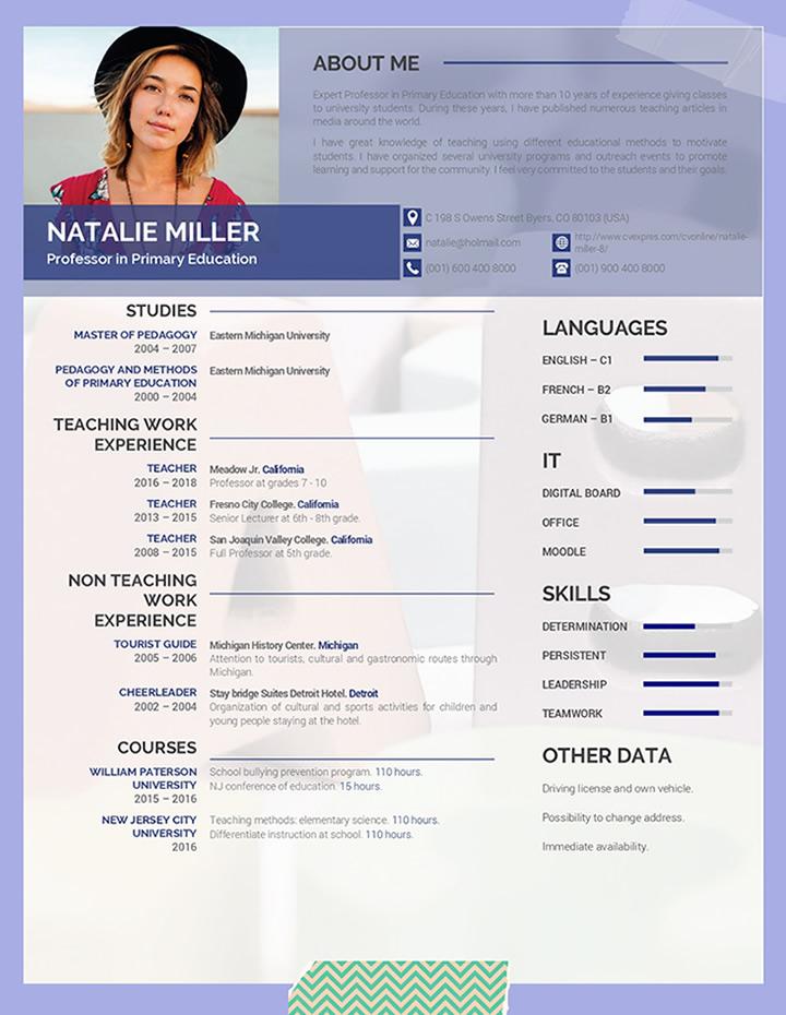 teacher, resume, templates